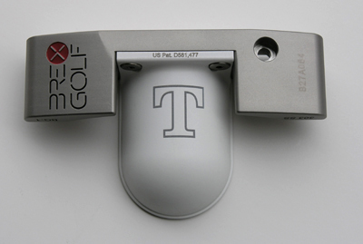 Model BG-1 Putter laser engraved, UT Vols Power T