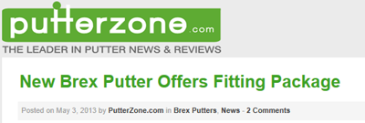 PutterZone Brex Golf article