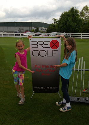 Brex Golf spokesmodels